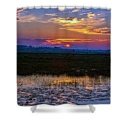 Dawn Breaking Over Saint Marks Shower Curtain