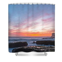 Dawn Shower Curtain by Catherine Lau