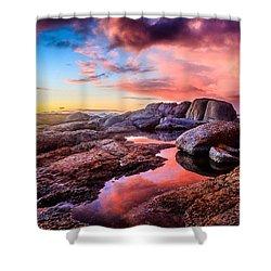 Dawn Colours Shower Curtain