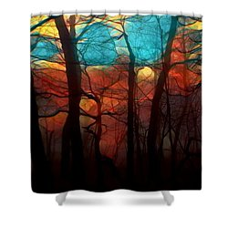Dawn Comes Shower Curtain
