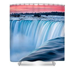 Dawn Flow Shower Curtain