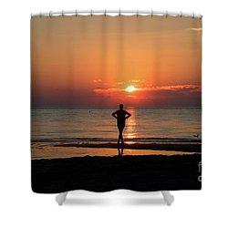 Dawn II Shower Curtain