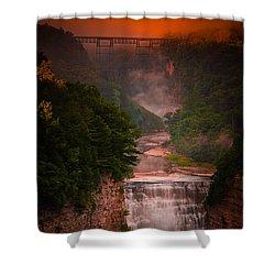 Dawn Inspiration Shower Curtain