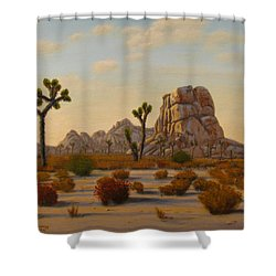Dawn Shower Curtain by Mark Junge