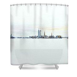 Dawn New York City Shower Curtain