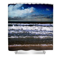 Dawn Of A New Day Seascape C2 Shower Curtain