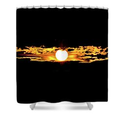 Shower Curtain featuring the photograph Dawn Of The Golden Age by Az Jackson