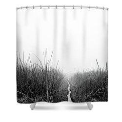 Dawn On Back Bay  Shower Curtain