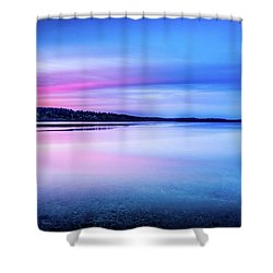 Dawn On Bainbridge Island Shower Curtain