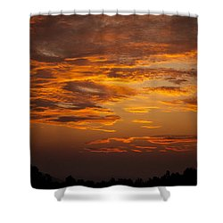 Shower Curtain featuring the photograph Dawn On Gaither Mountain At Ponca Wilderness by Michael Dougherty
