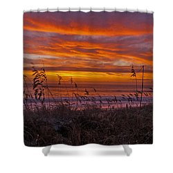 Dawn On The Dunes Shower Curtain