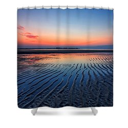 Dawn Ripples Shower Curtain