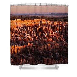 Dawn's First Light Shower Curtain