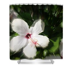 Shower Curtain featuring the photograph Dawns Flower Of The Morning by Sherri  Of Palm Springs