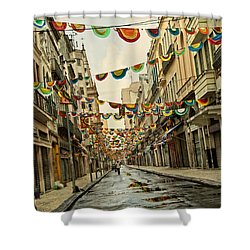 Shower Curtain featuring the photograph Day After by Kim Wilson