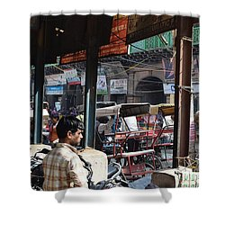 Day At Old Delhi Shower Curtain