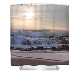 Day Break Paradise Shower Curtain