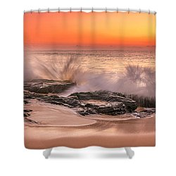 Day Break Shower Curtain by Racheal Christian