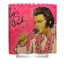 Day Dreaming King  Shower Curtain by Miriam Moran