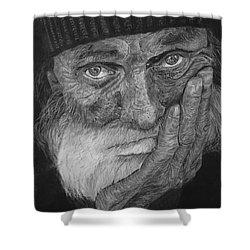 Mr. Mike Shower Curtain