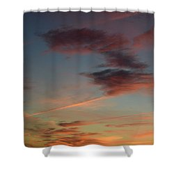 Day Is Dawning Shower Curtain