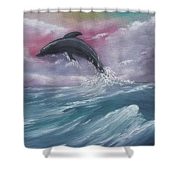 Day Of Play Shower Curtain