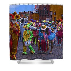 Day Of The Crazies 2013 Shower Curtain