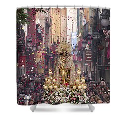Day Of The Virgen De Los Desamparados Shower Curtain