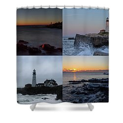 Day Or Night In Any Season Shower Curtain