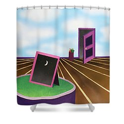 Day Shower Curtain by Thomas Blood