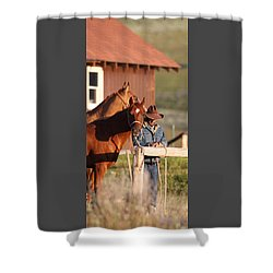 Day Thoughts Shower Curtain