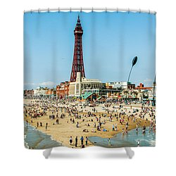 Day Trippers Shower Curtain