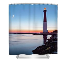 Shower Curtain featuring the photograph Daybreak At Barnegat by Eduard Moldoveanu