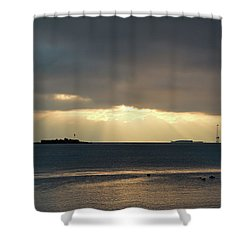 Daybreak Charleston Shower Curtain
