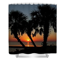 Shower Curtain featuring the photograph Daybreak by Judy Vincent