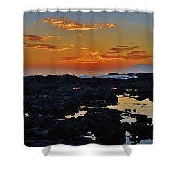 Daybreak Kalaupapa Shower Curtain by Craig Wood
