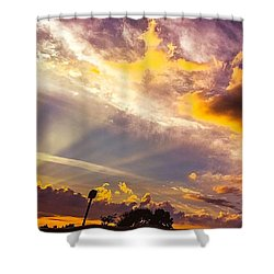 Daybreak Shower Curtain by MaryLee Parker