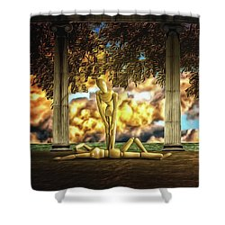 Shower Curtain featuring the photograph Daybreak Redux by Mark Fuller