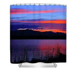 Daybreak Sunset Shower Curtain