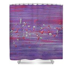 Daydream In Purple Shower Curtain