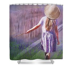 Daydreamer Shower Curtain by Wallaroo Images