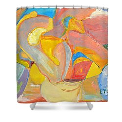 Daydreaming Shower Curtain by Evelina Popilian