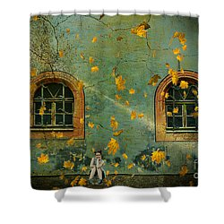 Shower Curtain featuring the photograph Daydreams by Chris Armytage