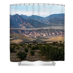Shower Curtain featuring the photograph Daylight Pass by Joe Schofield
