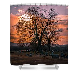 Day's End Shower Curtain
