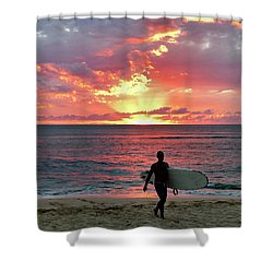 Day's End On The North Shore Shower Curtain