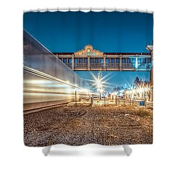 Shower Curtain featuring the photograph Days Go By by TC Morgan