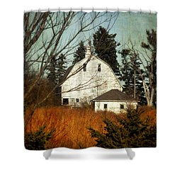 Shower Curtain featuring the photograph Days Gone By by Julie Hamilton