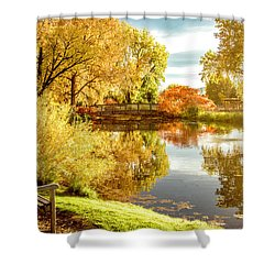 Days Last Rays Shower Curtain