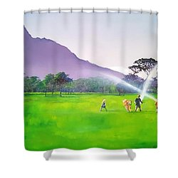 Days Like This Shower Curtain by Tim Johnson